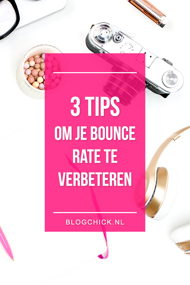 3 tips om je bounce rate te verbeteren